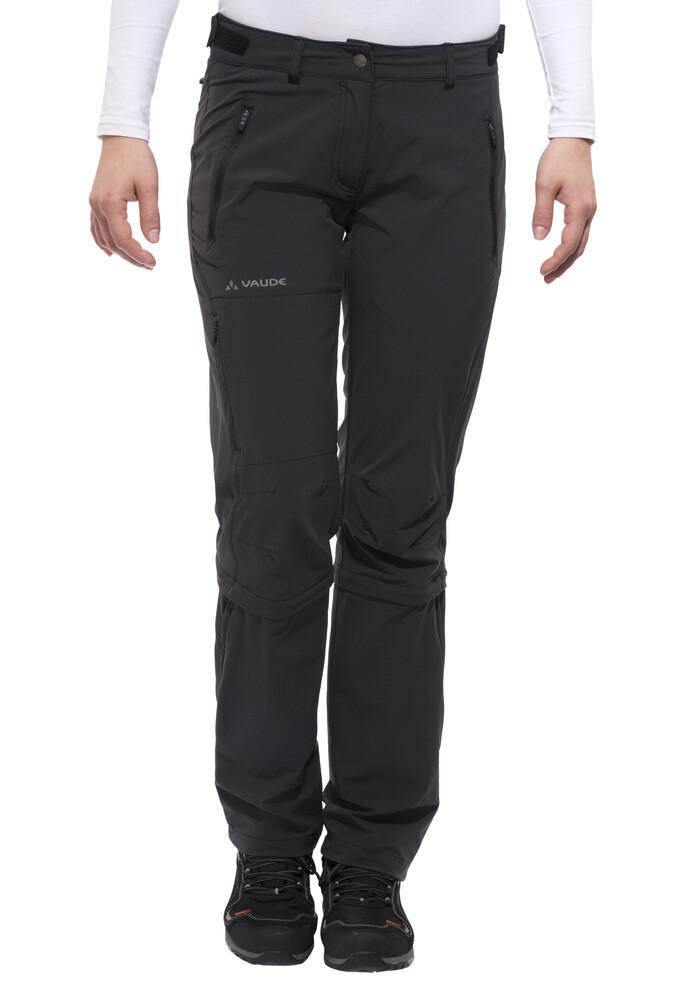VAUDE Farley II Stretch - Pantalones de Trekking Mujer - negro 36-corto 2017 Pantalones Trekking & Senderismo campz el-negro Wrdqgs